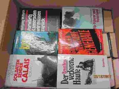 36 Bücher Romane Kriegsromane Weltkriegsromane Kriegsschicksale