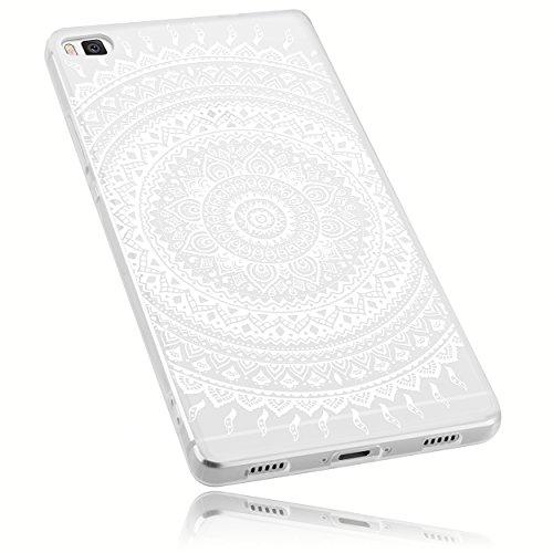 mumbi Schutzhülle Huawei P8 Hülle im Mandala Design