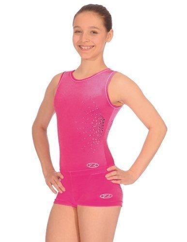 Mädchen The Zone Gymnastik Shorts/Shorts alle farben/Alle Größen - Elektro-rosa, 26 (110-116)