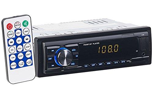 PEARL Bluetooth Radio: MP3-Autoradio mit Bluetooth, Freisprech-Funktion, USB & SD, 4x 45 Watt (Autoradio mit Freisprechfunktion)