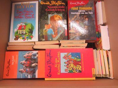 Enid Blyton 57 Bücher Kinderromane Jugendromane 5 Freunde Hanni und Nanni u.a.
