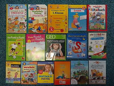 Bücherpaket 23 Lernhilfen Vorschule / 1. Klasse Erstleser Duden Schülerhilfe