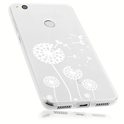 mumbi Schutzhülle Huawei P8 lite 2017 Hülle im Pusteblume Design