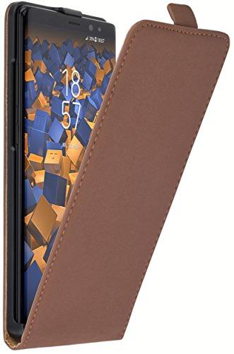 mumbi Flip Case für Samsung Galaxy Note8 Tasche braun