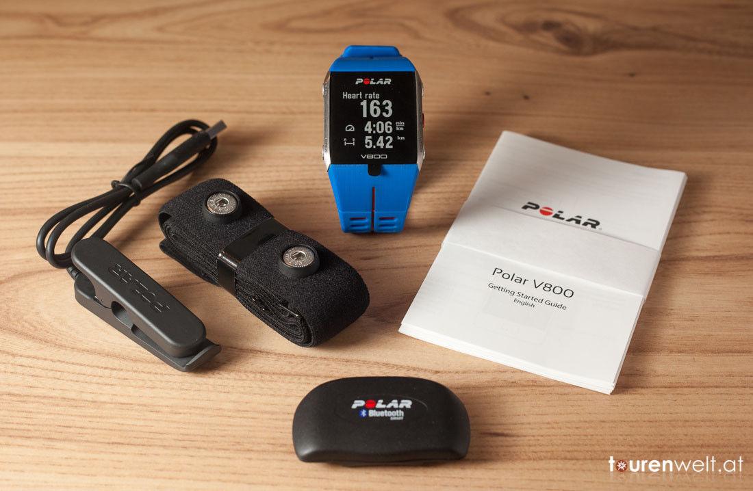 Polar V800: Gesamtpaket, GPS Sportuhr Originalverpackt!