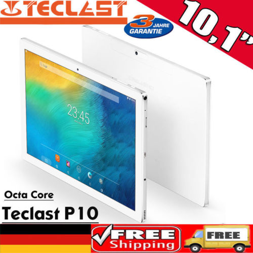 "10.1"" 2+32GB Tablet PC Android 7.1 Octa Core OTG Dual WIFI/Kam 5200mAh 1920*1200"