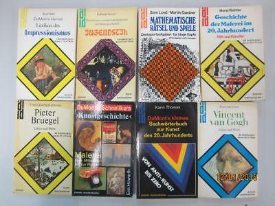 56 Bücher Taschenbücher DuMont Verlag DuMont Kunsttaschenbücher