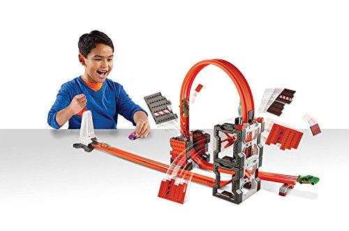 Mattel Hot Wheels DWW96 - Track Builder Mega Crashset