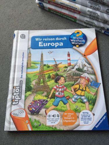 Tiptoi Buch, Ravensburger, Wir Reisen Durch Europa Top wie NEU