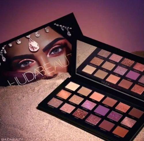 NEU Huda Beauty Desert Dämmerung Edition texturiert Augen Schatten Palette 18