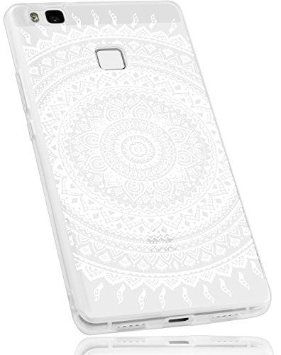 mumbi Schutzhülle Huawei P9 Lite Hülle im Mandala Design