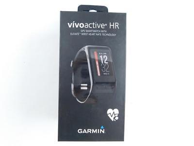 Garmin vivoactive HR Schwarz GPS Smartwatch Herzfrequenzmesser Tracker
