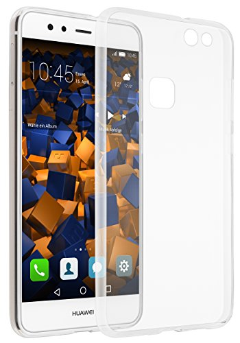 mumbi UltraSlim Hülle für Huawei P10 Lite Schutzhülle transparent (Ultra Slim - 0.70 mm)