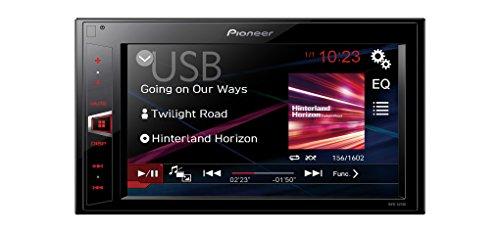 Pioneer Radio Auto Mediacenter Touchscreen 2 DIN mit Einbauset für VW Fox Lupo