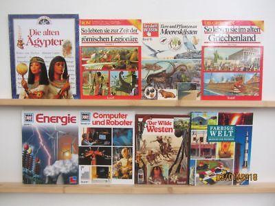 36 Bücher Kindersachbücher Jugendsachbücher Natur Technik