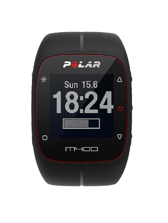 POLAR M400 - GPS Laufuhr - Trainingscomputer - Schwarz - ohne Brustgurt