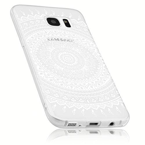 mumbi Schutzhülle Samsung Galaxy S7 Hülle im Mandala Design