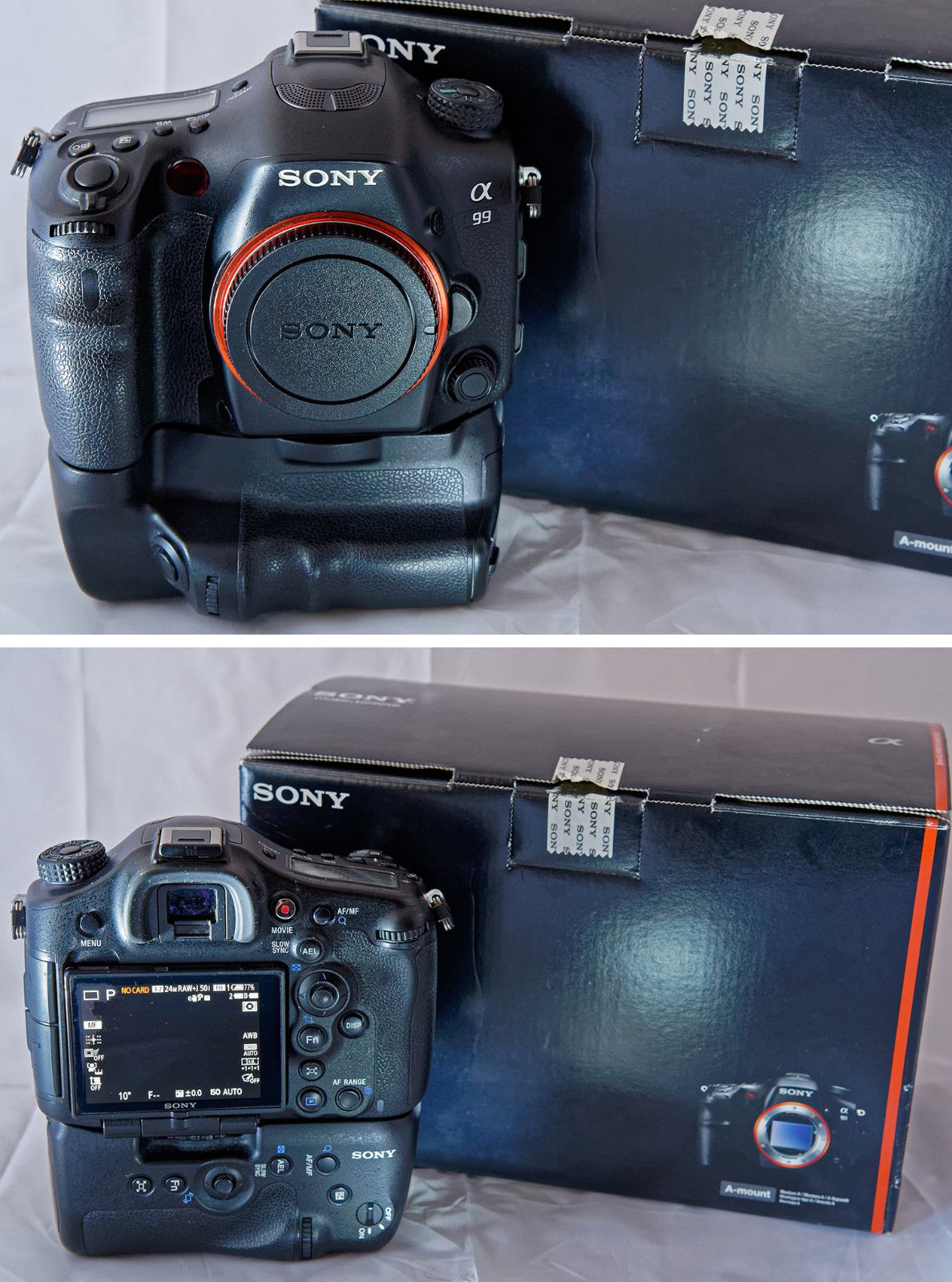 Sony Alpha SLT-A99V 24.3 MP SLR-Digitalkamera mit OVP + Sony Batteriegriff
