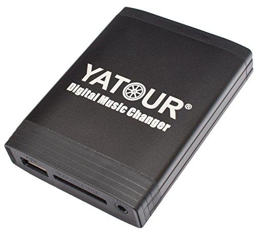 USB SD AUX MP3 Adapter für Alle JVC Radios mit Unilink Wechsleranschluss