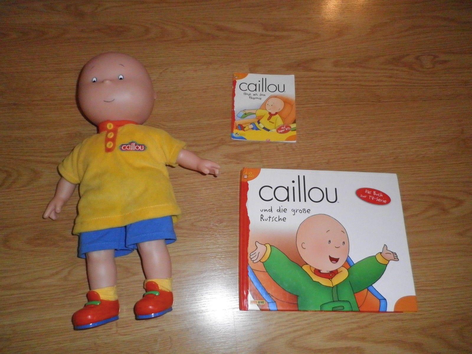 Caillou puppe, buch, sammlung paket, Caillou Figur