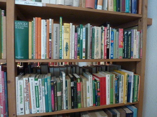 ca. 90 Bde, Botanik, Bestimmungsbücher, Pilze