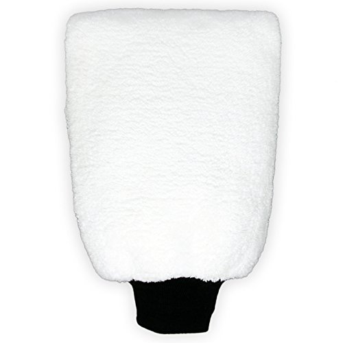 Premium Mikrofaser-Auto-Wasch-Handschuh aus extrem saugstarker und weicher Microfaser - Schwamm zur makellosen Autoreinigung und ein optimaler Felgenreiniger