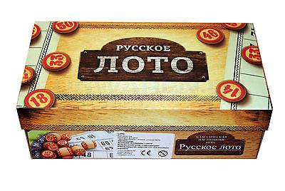 Russisches Lotto ??????? ???? Gesellschafts Spiel Familienspiel Bingo