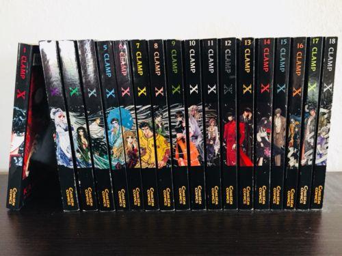 Clamp X 1999 Manga Band 1-18 komplett Set deutsch