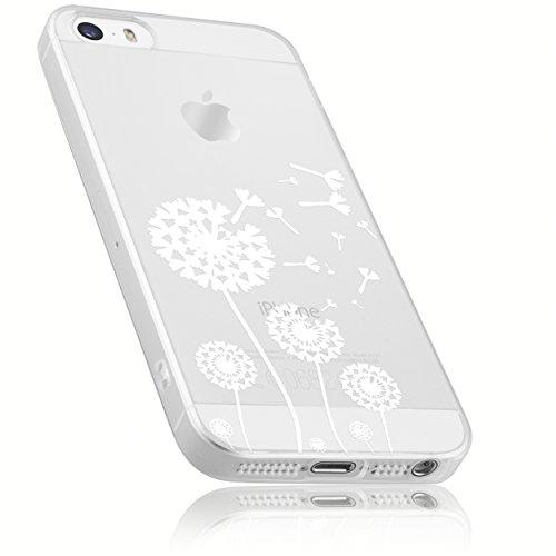 mumbi Schutzhülle iPhone SE 5 5s Hülle im Pusteblume Design