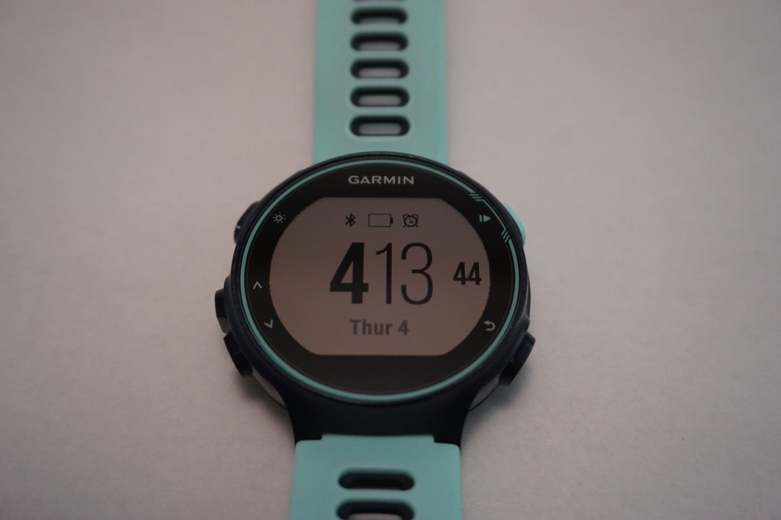 Garmin Forerunner 735xt - GPS Multisport - Frost/Blue - Training Watch Uhr OVP