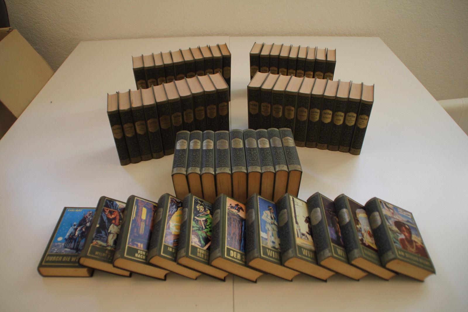 Karl May Sammlung Gebunden Bände 1-59 komplett