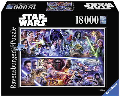18000 Teile Ravensburger Puzzle Star Wars Galaktische Zeitreise 17827