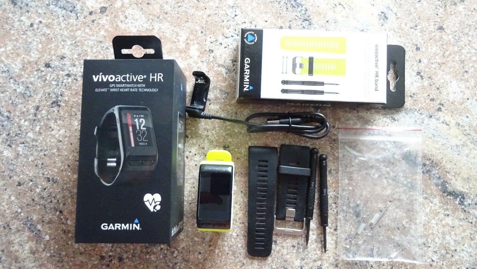 Garmin vivoactive HR Sport GPS-Smartwatch Größe L - Wie NEU & OVP