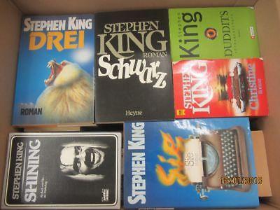 Stephen King 41 Bücher Horrorromane Gruselromane Fantasyromane