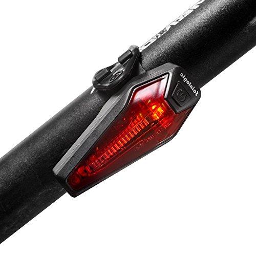 Fahrrad Rücklicht, Sainlogic USB LED Aufladbar Wasserdichte Fahrradrücklicht Super Helle Fahrradlampe in StVZO Zugelassen für Fahrrad, Kinderwagenbeleuchtung, Fahrradlicht Set, Fahrradbeleuchtung