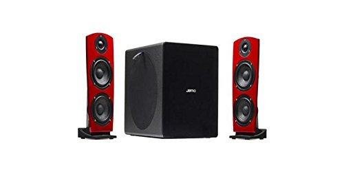 Jamo ja1063388DS 7–Lautsprecher mit Bluetooth, Rot