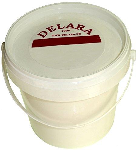 DELARA Lederbalsam mit hochwertigem Bienenwachs, Lederpflege, die das Leder weich, geschmeidig und atmungsaktiv macht. Farblos, 500 ml