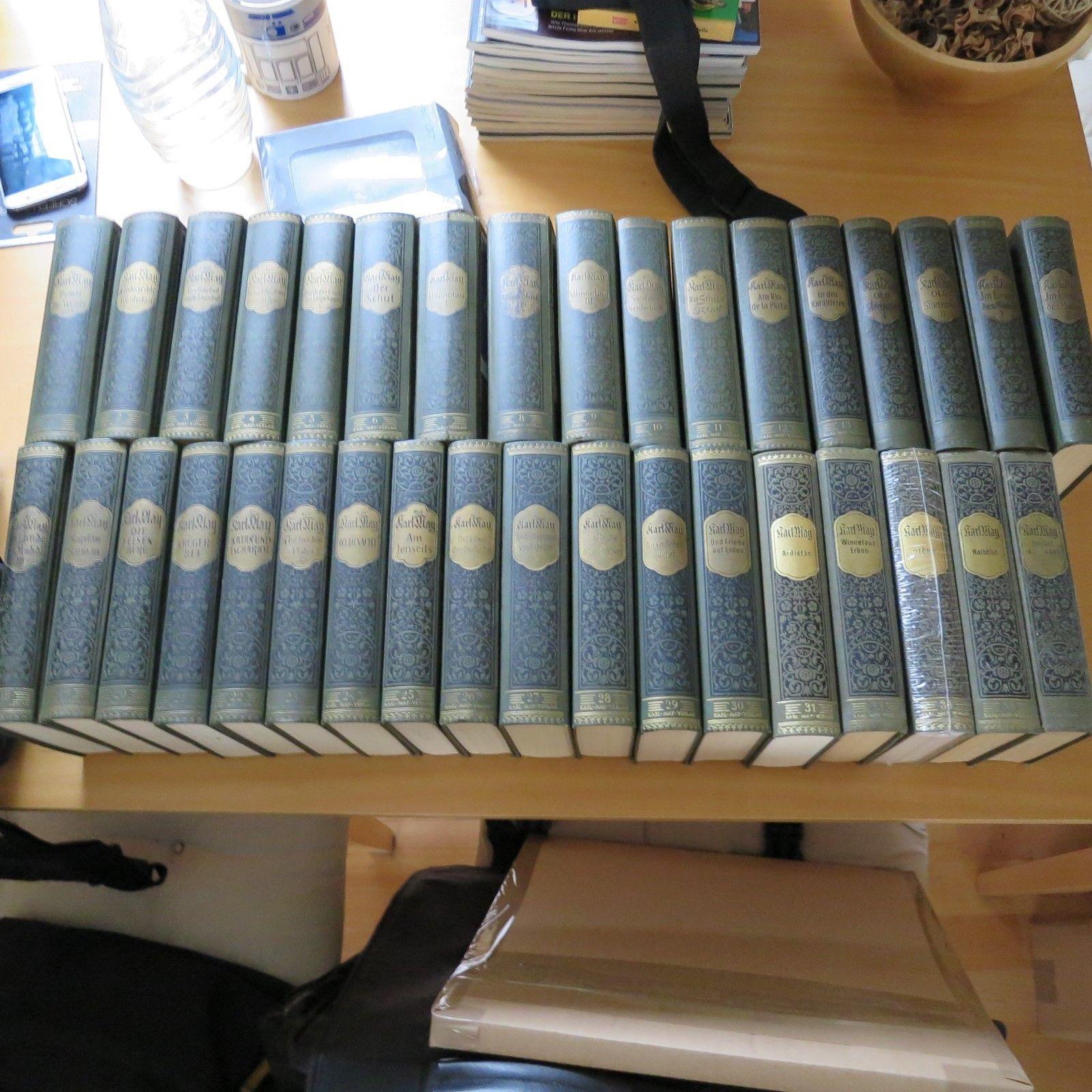 KARL MAY SAMMLUNG BAND 1-31+4 WEITERE KARL MAY VERLAG BAMBERG