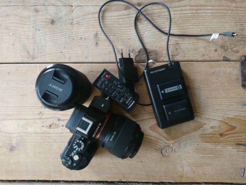Sony a7 kit + 50 mm 1.8 Objektiv