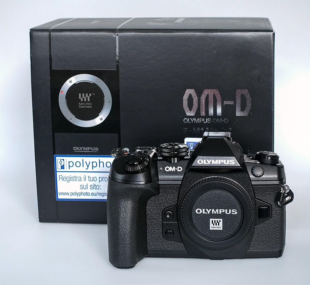 Olympus OM-D E-M1 Mark II – Gehäuse (Body) schwarz - wie neu - TOP!
