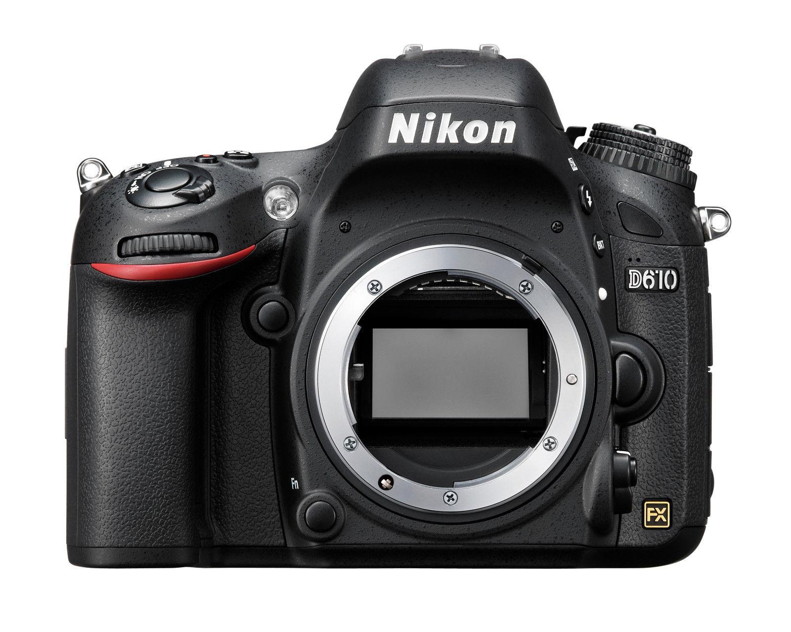 Spiegelreflexkamera Nikon D610 24.3 MP DSLR, GEHÄUSE, GEBRAUCHTWARE