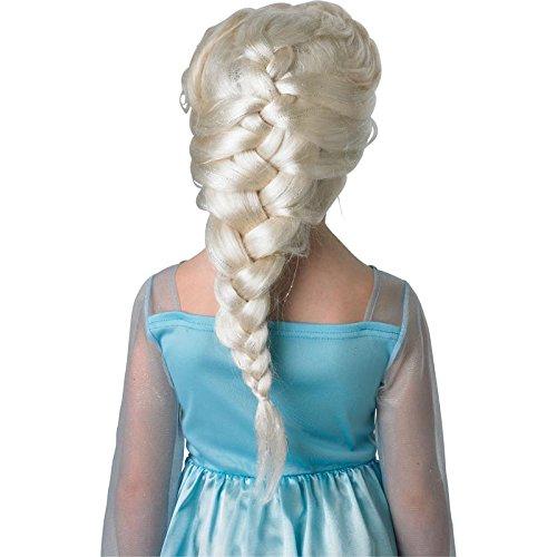 Rubie's 3 52865 - Elsa Wig, Frozen, aschblond