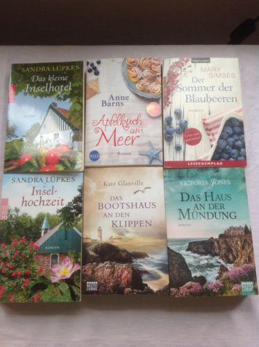 Bücherpaket Romane 6TB Frauenromane Gelesen
