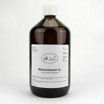 (17,79/L) Sala Weizenkeimöl Weizenkeim Öl kaltgepresst 1000 ml 1 L Liter