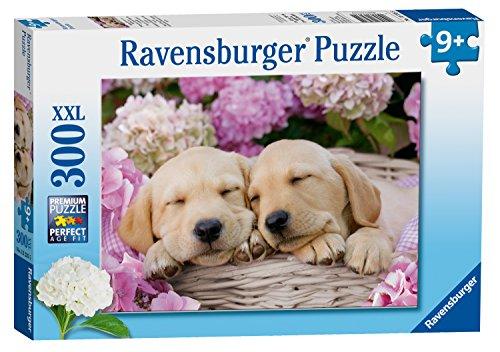 Ravensburger Puzzle 13235 Süße Hunde Im Körbchen