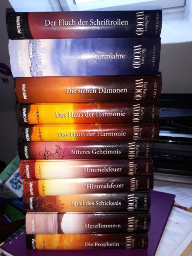 Bücherpaket 11 St. v. Barbara Wood Sammler-Edition von Weltbild sehr gut bis gut