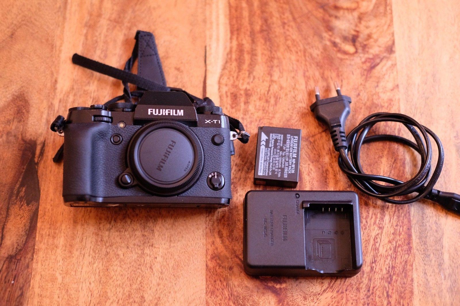 Fujifilm X series X-T1 16.3MP Digitalkamera - Schwarz (Nur Body)