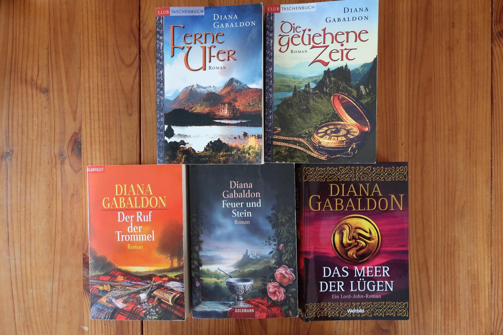 Buchpaket 5 Historische Romane von Diana Gabaldon Ferne Ufer...