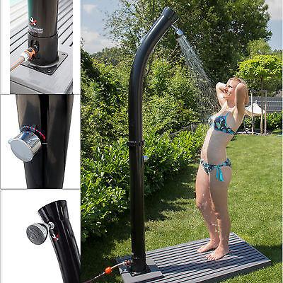Solardusche Dusche Solar Pool Gartendusche Camping Aussendusche Pooldusche 49000