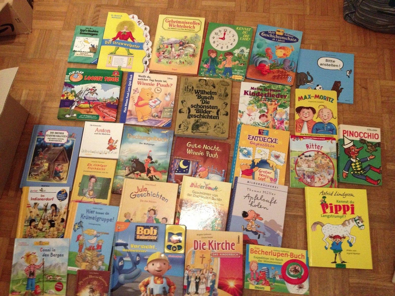 Paket Kinderbücher, 30 Stück, Konvolut, Büchersammlung